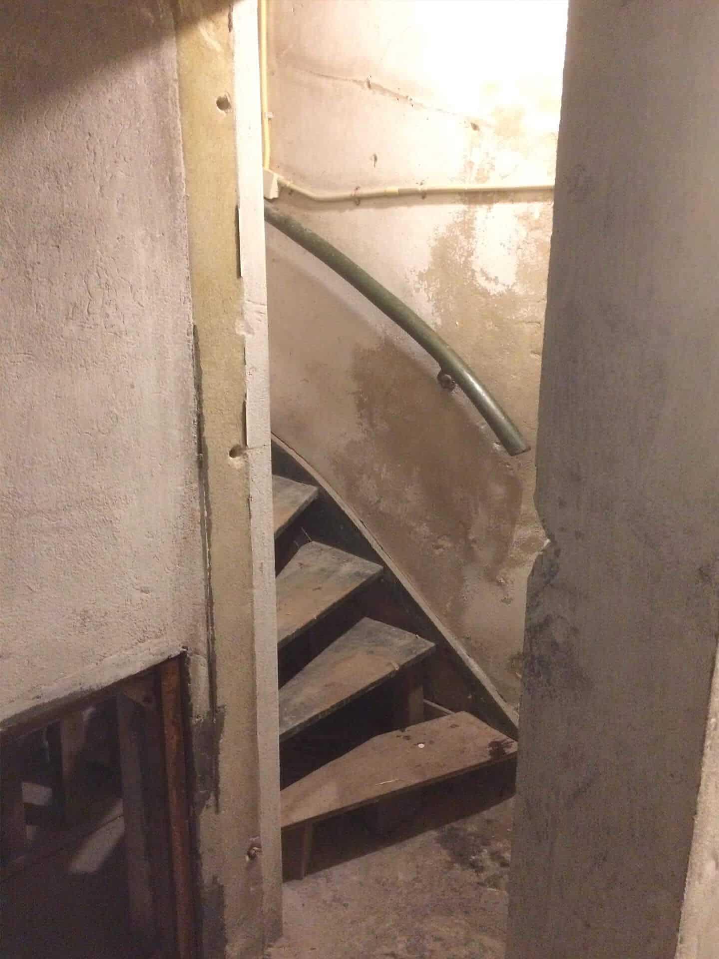 Kelder trap Amsterdam voor