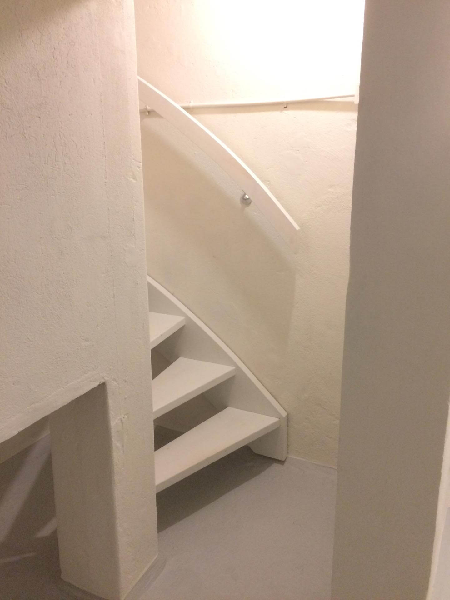Kelder trap Amsterdam na
